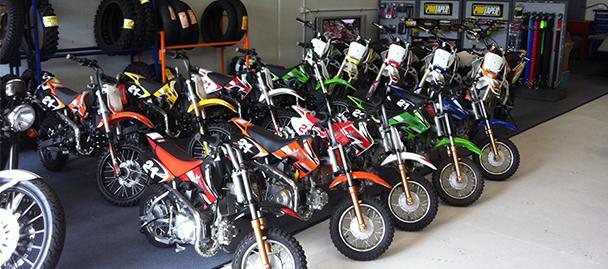 Hi octane motorcycles